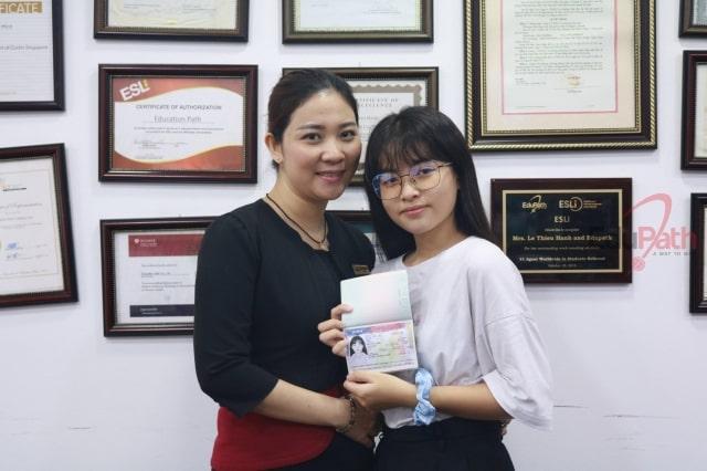 EduPath trao visa cho du học sinh đậu phỏng vấn