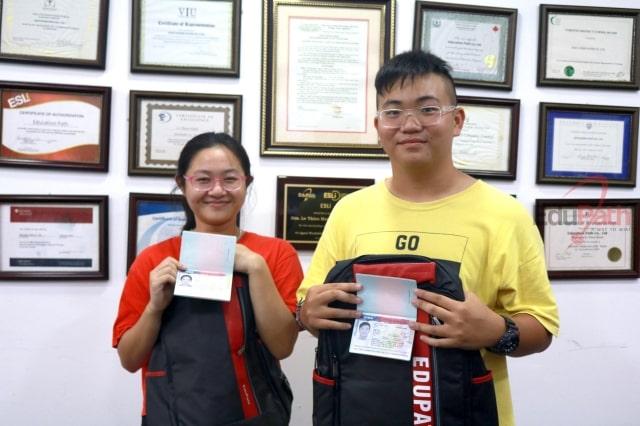 Học sinh tại EduPath đậu visa du học Mỹ