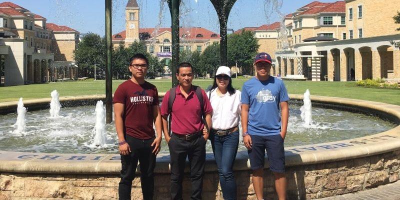 Nguyễn Thị Thanh Thuỷ phụ huynh Nguyễn Xuân Kiên và Nguyễn Xuân Khiêm