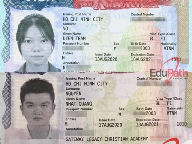 Visa F1 của du học sinh tại EduPath