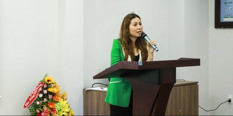 Diễn giả Ms Lê Thiều Hạnh