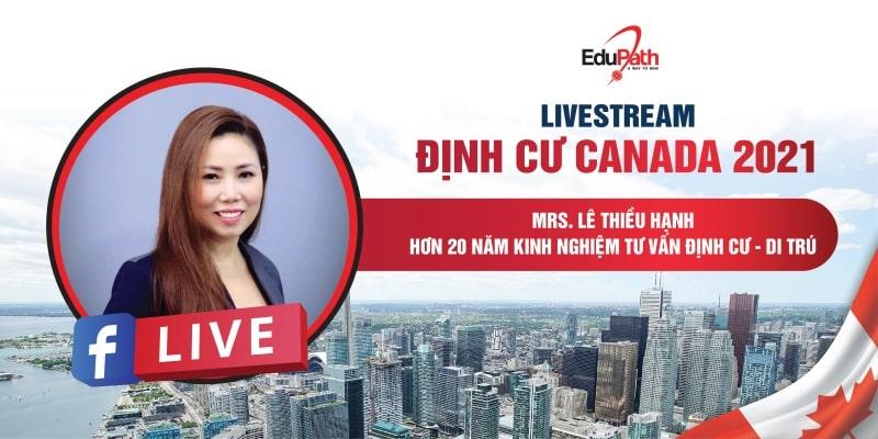 Livestream định cư Canada - Du học EduPath
