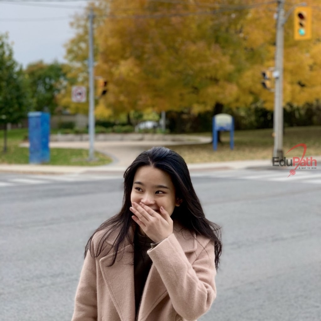Hạ Vy du học sinh EduPath tại Canada