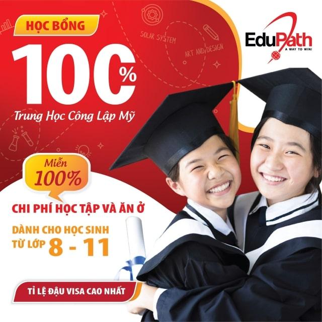 Chương trình học bổng trung học công lập Mỹ tại EduPath