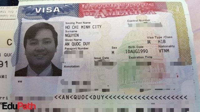 Visa H-1B của du học sinh EduPath.