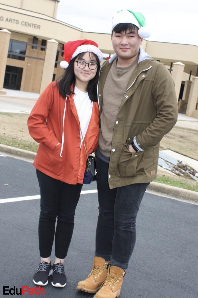 Anh em Hoàng Gia Anh Kiệt và Hoàng Đặng Minh Thư tại Mỹ - Du học EduPath