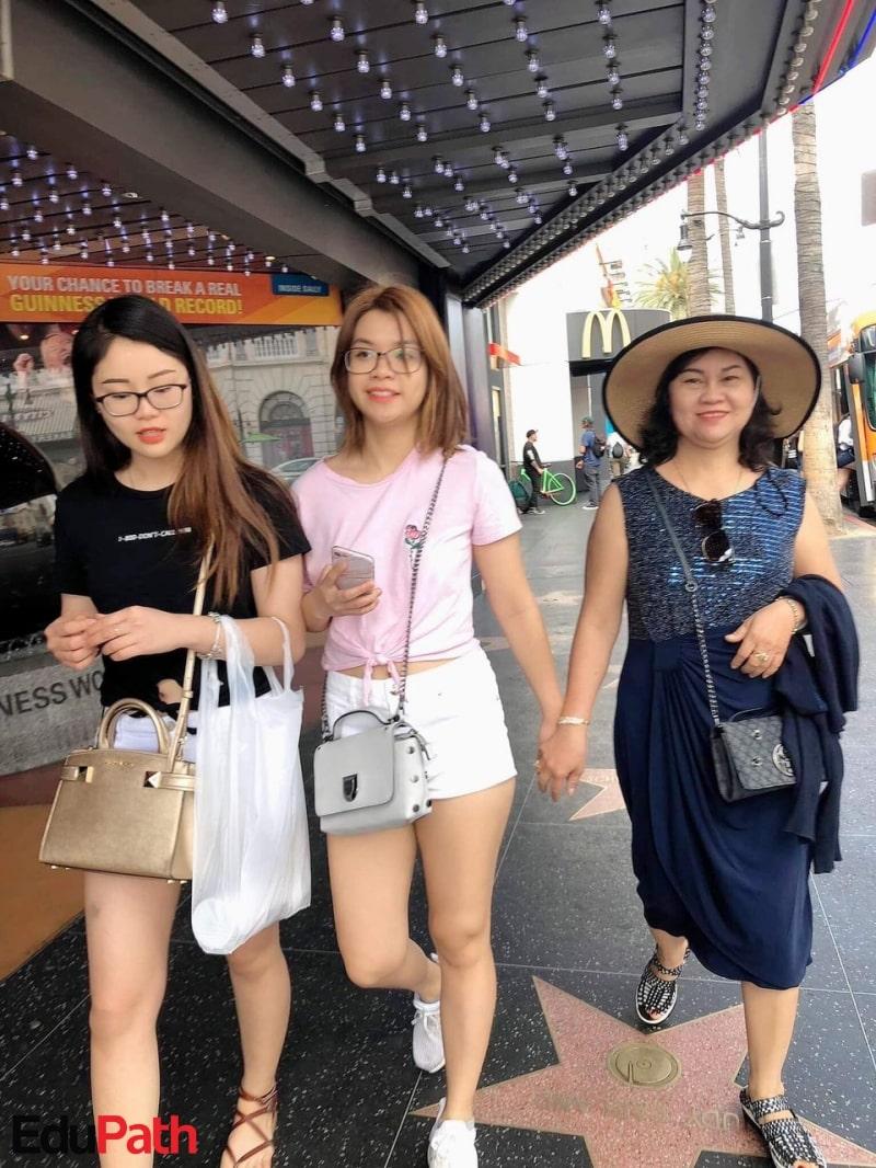 Chị Thu An du lịch Mỹ - Du học EduPath
