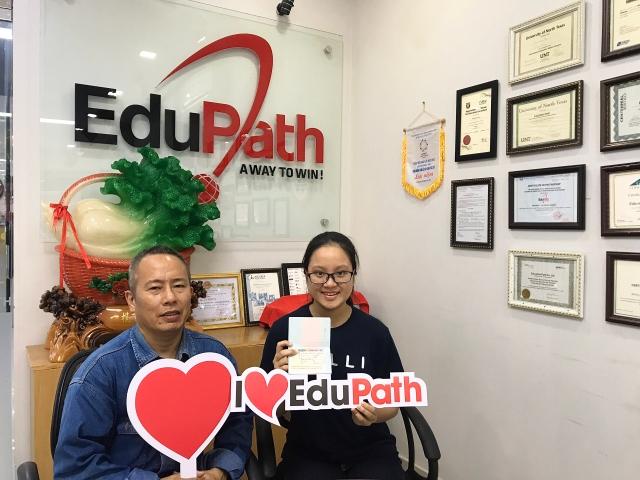 Hoàng Nguyễn Anh Thư du học trường Toronto District School Board - Du học EduPath