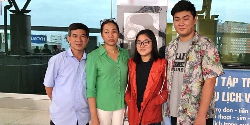 Gia đình chị Đặng Thị Minh Hường - Visa du học, du lịch EduPath
