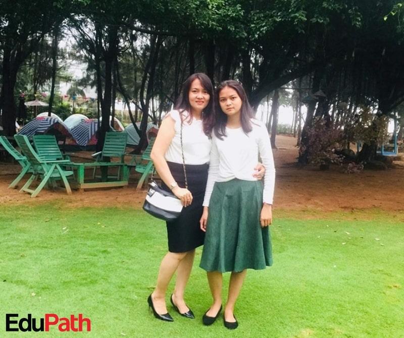Võ Thị Thanh, phụ huynh em Phan Trang Thảo - Du học EduPath