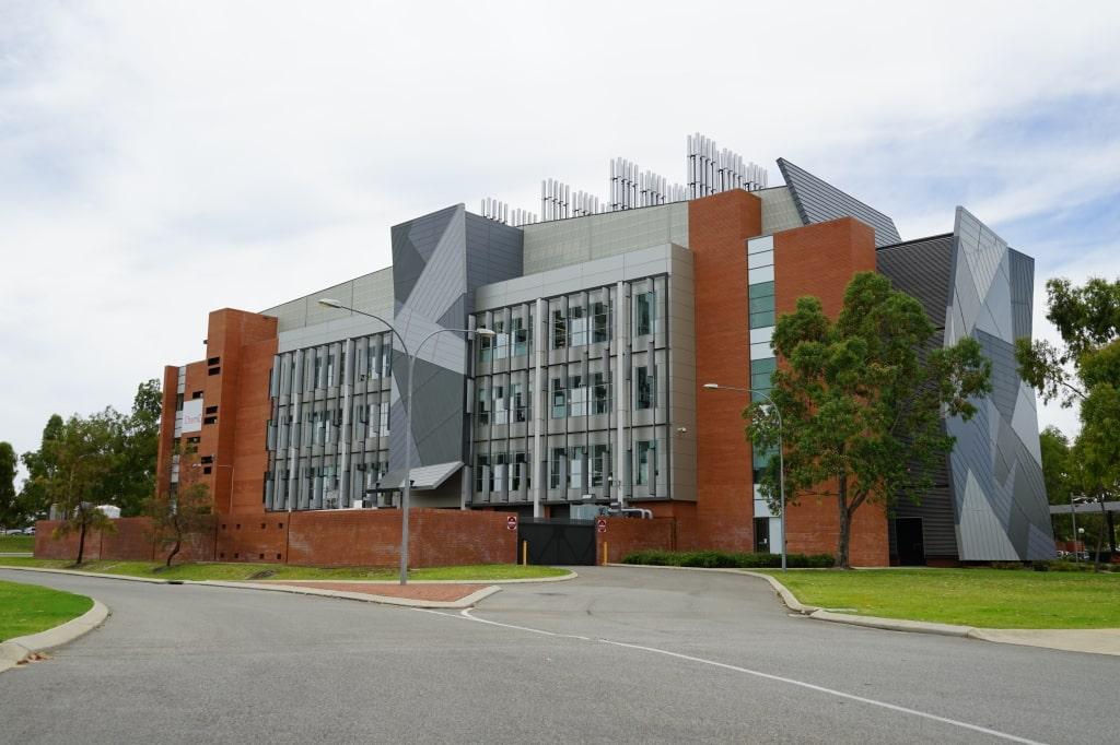 Sân sau trường Curtin University - Du học EduPath