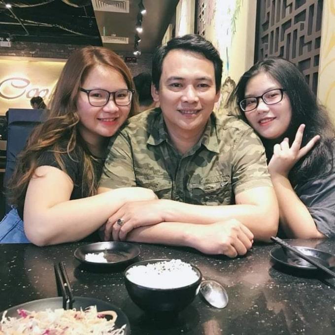Anh Trường cùng hai con gái - Du học EduPath