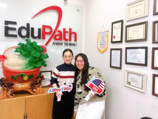 Dung Huỳnh phỏng vấn visa du học mùa dịch Covid - Du học EduPath