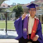 Nguyễn Xuân Kiên nhận học bổng