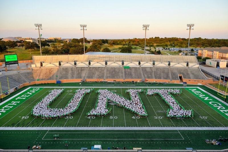 Sân-vận-động-của-University-of-North- Texas-Du-học-Edupath
