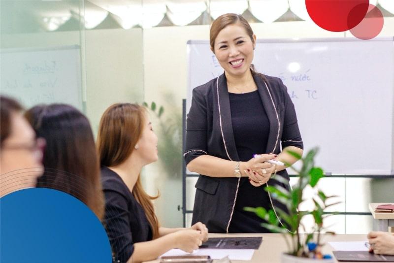 Giám đốc Lê Thiều Hạnh tại EduPath