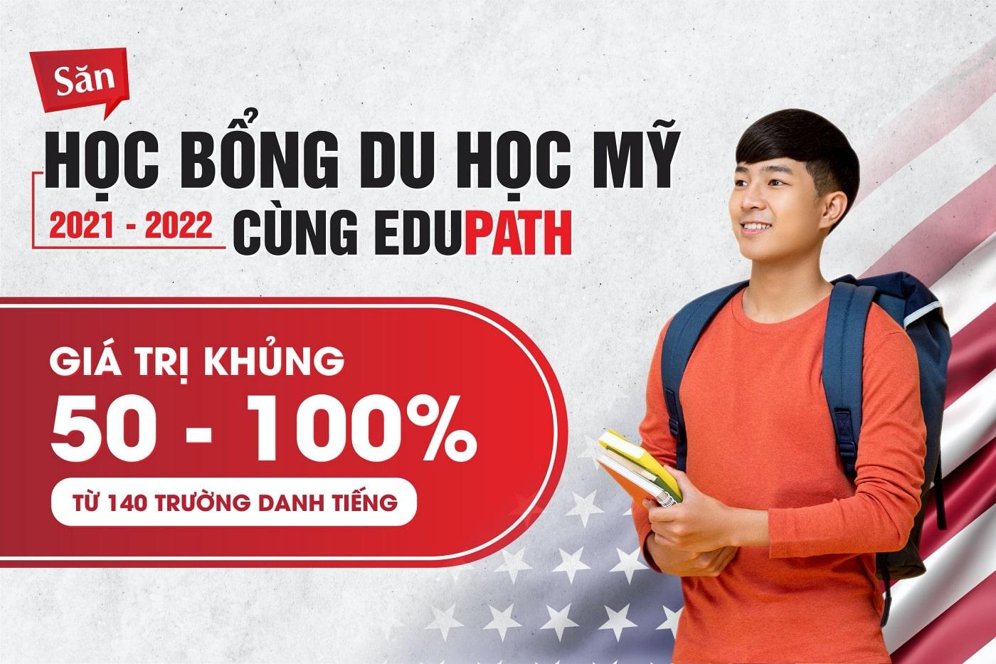Banner học bổng du học Mỹ