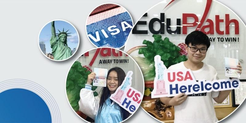 Giao lưu văn hoá Mỹ: Học sinh được cấp visa diện F1