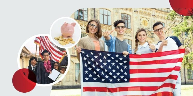 Giao lưu văn hoá Mỹ visa F1: Chi phí tiết kiệm