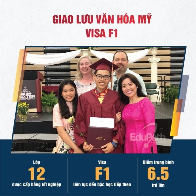 Giao lưu văn hoá Mỹ visa F1