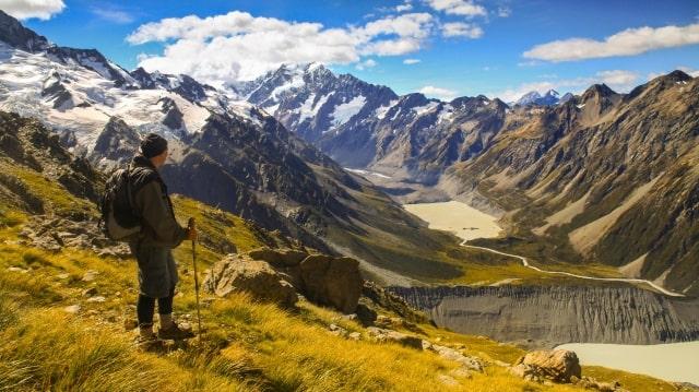 Những dãy núi hùng vĩ tại New Zealand - Du học EduPath